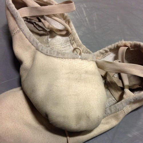 Do your #ballet #shoes look like this? Visit www.DiscountDance.com to pick out some new ones! #wedance