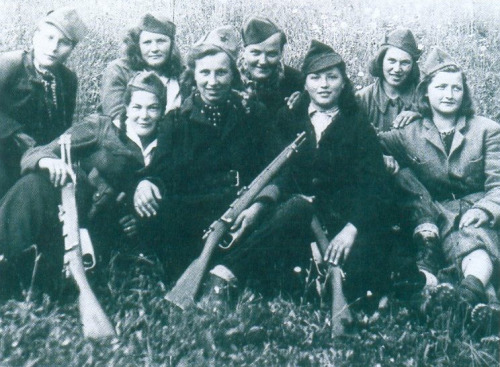 Slovene partisans, May 1943.