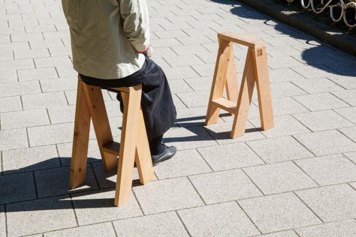 aros:  Two Stools in One, Designed by an Architect
