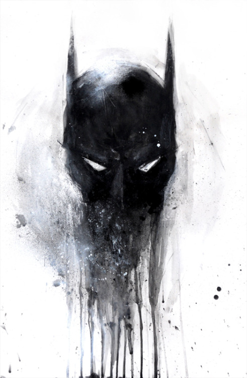 oliversketches:  Dark Knight