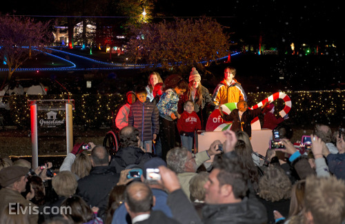 Graceland lights up for another year! See complete video and photos!