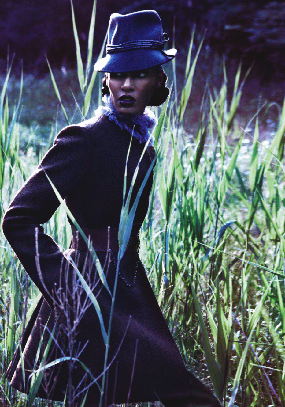 Joan Smalls/Vogue Japan December 2011