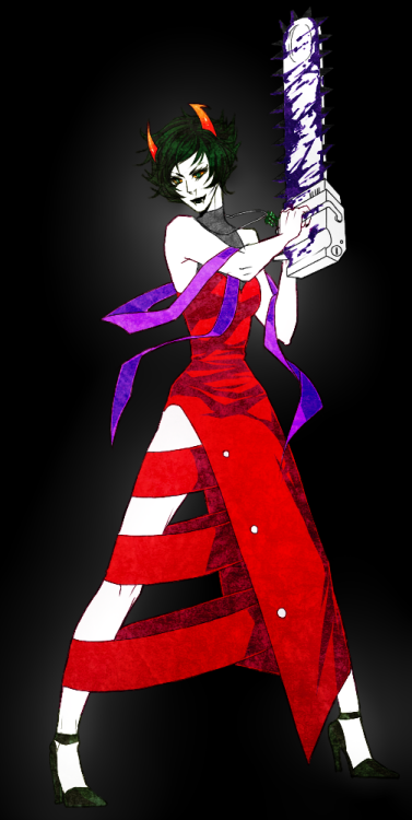 vonnabeee:  So i saw this alternative version of kanaya's dress