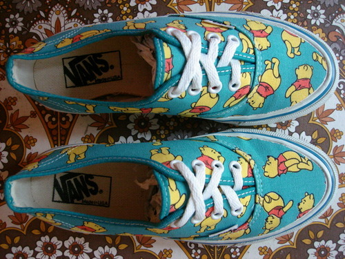 So in love with these Pooh Bear Vans