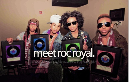If I could wish for anything, I would wish I could meet Roc Royal.