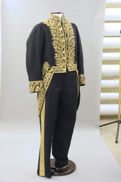 Wool court uniform, c. 1878.