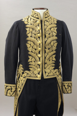 Wool court uniform, c. 1878