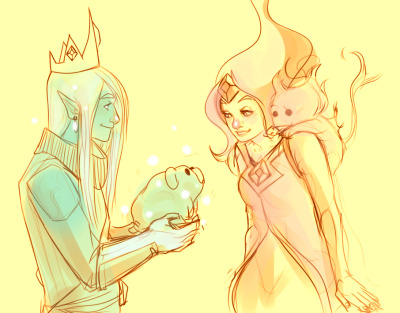 grafinyavishenka:  you could say she ~melted his heart flame princess/ice prince aw yeah thats my jam