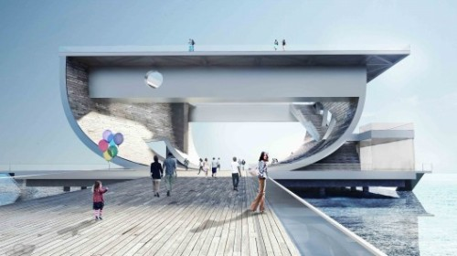 cjwho:  Faliro Pier Competition Entry / Ksestudio
