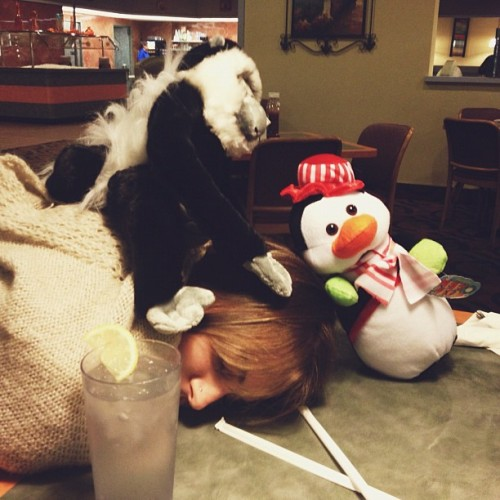 so a monkey and a penguin walk into a diner..