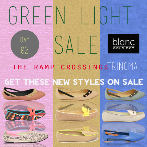 TRINOMA'S GREENLIGHT SALE AT THE RAMP CROSSINGS  Get our best-sellers  on SALE…  Happy SHOPPING!!!! xoxo