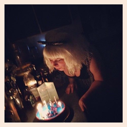 Happy birthday Joi !!!!! #joicarey #cake #birthday #booze #glossyworks