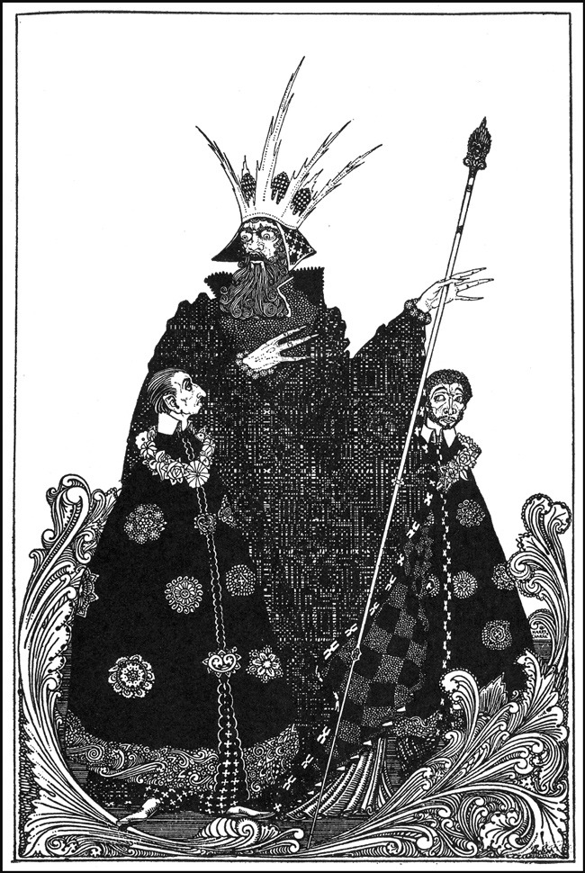 Black Paint Gallery - more from butdoesitfloat.com Harry Clarke's illustrations of fairy tales