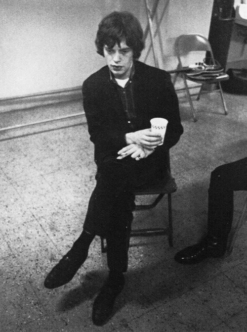 Mick during the Stones' U.S. tour, 1965.