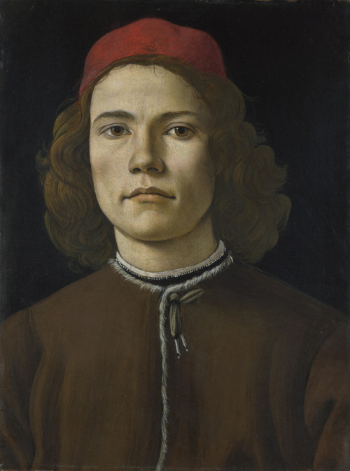 'Portrait of a Young Man' by Sandro Botticelli