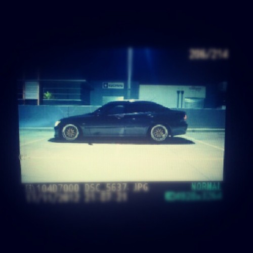 Late night shoot #lexus #is200 #is300 #toyota #altezza #jdm #bbs #lm #obamaself