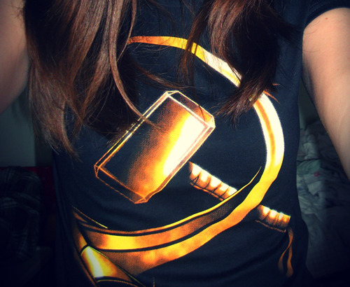Yeeeey, my Loki-Thor Qwertee t-shirt has arrived today! ♥