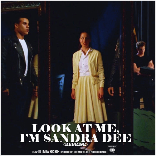 4x06 Glease | Look at Me, I'm Sandra Dee (Reprise) Alternative Cover