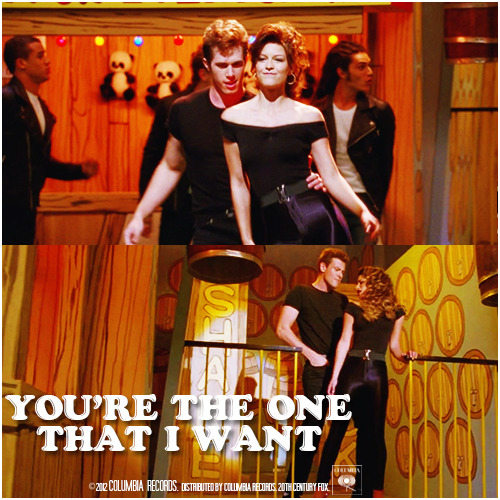 4x06 Glease | You're The One That I Want Alternative Cover