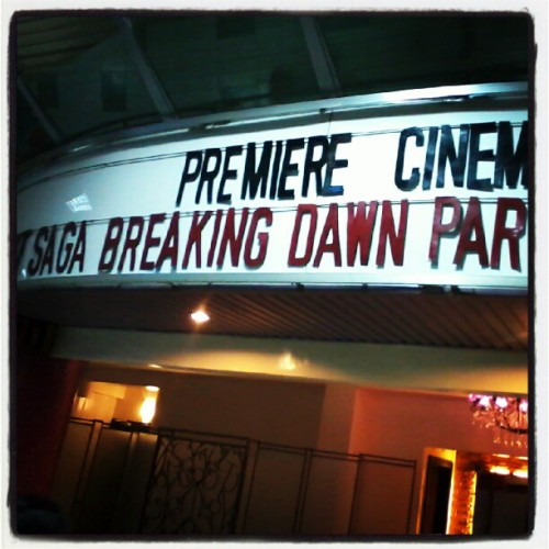 lastfullshow #breakingdawnpart2. it's over