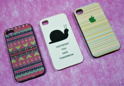 Cool Iphone Cases Tumblr I got these 3 lovely iphone 4