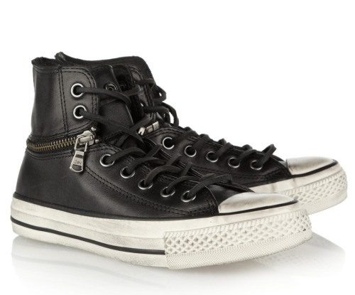 John Varvatos chucks via Net-a-porter dot com.