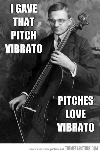 georgetakei:  We know your cellist.
