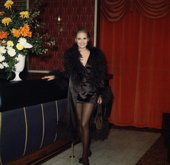 weareallprostitutesandjunkies:  Faye Dunaway attends the Royal European charity premiere of the film 'Camelot' at the Warner Theatre in London, 16th November 1967.