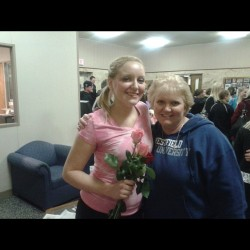 My mom and I after my dance recital last night 😊 this woman is my hero ❤ #nofilter #recital #dance #dancecompany