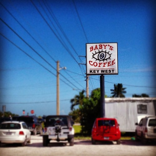 Mile 157 #smartride9  Next stop #KeyWest (at Baby's Coffee)