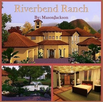 Riverbend ranch by masonjackson is a mediterrain styled ranch with stables, pool, outdoor spaces, and beautiful landscaping. Download & recommend today!