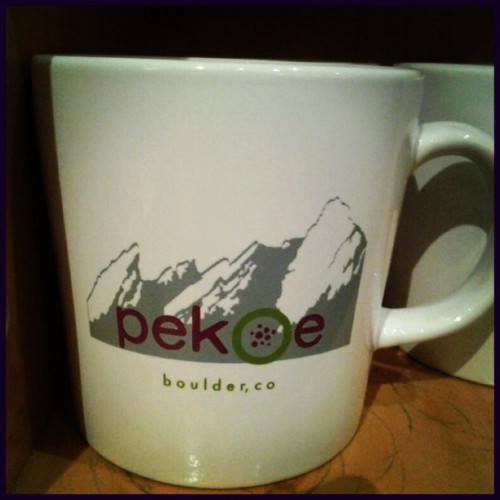 New Product! Boulder Pekoe mug for 14.95! Stop into Alpine or Steelyards for yours today!
