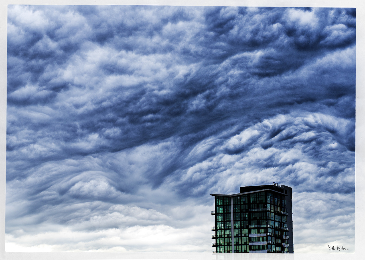 Cloudscape Number 2197 - West Loop - embiggen by clicking here: http://bit.ly/T80EbH I took this photo on July 01, 2011 at 12:50PM