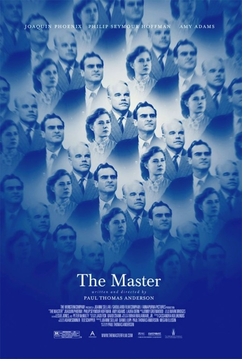 "#122 The Master (2012) Dir. Paul Thomas Anderson  After such a long a wait, years of will it/won't it get made rumours and overwhelming anticipation I almost had to pinch myself the minute I sat down and the words ""The Master"" faded up on the big screen. But then…the film begins and we see Joaquin Phoenix's piercing, broken eyes and immediately the once ""Untitled Paul Thomas Anderson Movie"" is well and truly the story of Freddie Quell.  The Master is a very difficult film to try and review. It wasn't what I was expecting at all and that's a good thing. It's a film that floats along, dreamlike and loose in form but still feels controlled, unpredictable and organic. If There Will Be Blood saw Anderson stray from the flashy Scorsese and Altman stylings of his earlier work into the more cerebral and painterly realm that filmmakers like Kubrick or Malick often populate then this sees him dive even deeper into that world. Anderson has nothing to prove and its clear now more than ever he is simply making the movies that interest him.   The Master didn't hit me with the bang I was expecting, instead it eased me into the psyche of one of the most fascinating screen characters I've ever come across. Like Quell, the film he inhabits feels lost and aimless, searching for focus and a purpose. At points in the film I became frustrated at it's wandering nature and it's refusal to have a destination for it to reach but then I realised that this was completely the point. It's different to anything Anderson has ever done but is still smeared with his fingerprints. The punk-rock attitude that made Boogie Nights may have matured and mellowed out but he is still a filmmaker capable of creating unbelivably provocative work. If he wants to have a scene suddenly switch to a more surreal mode and have all the women on screen appear topless for no apparent reason then fuck it, he does!  There's soo much to chew on with this film and it's taken a few hours for me to realise how much I really like it and even then I know I still have a lot if mulling over to do. I need to see it again. There are things I'm certain of though, Phoenix's performance is the most electrifying thing I've seen all year. It's powerhouse stuff, animalistic and dangerous. You can't take your eyes off him. Hoffman too is really fucking good. Phoenix may get all the attention but Lancaster Dodd is the trickier role coloured with deeper shades and hidden shadows. When he raises his voice your blood freezes. He commands a room as soon as he enters it. People should be talking more about Amy Adams as well. I think a lot of the answers to the film's mysteries lie with her character and the more times people return to The Master, the more brilliant her performance will become.   The Master is a real fucking film that takes over your brain. It's shot beautifully and is expressionistic in every sense of the word. Jonny Greenwood's score is the best of the year and the film is definitely a serious contender for best of 2012. It didn't blow me away but it's not that kind film and I don't think it was made to be. It was made to be thought about, get lost inside of and to provoke discussion and encourage debate and it succeeds in every way. Paul Thomas Anderson has impressed and inspired me yet again. It's been five years but the master truly has returned."