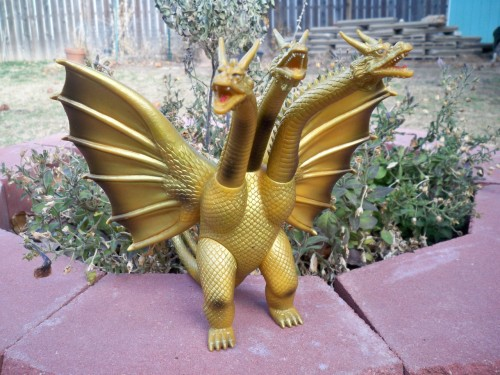 King Ghidorah キターーーーーーーーー! Bandai 1984 Showa King Ghidorah
