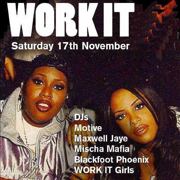 Work It TONIGHT @ Video Visions Bar (Dalston). Brace the cold & let's have a knees up yeah?! Safe