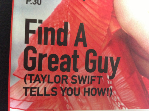 frenchroyalty:  YEAH IM SURE TAYLOR SWIFT IS THE BEST PERSON TO GET DATING ADVICE FROM