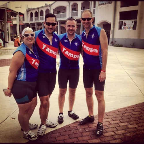 We made it! 165 Miles #done #smartride9  (at Key West High School)