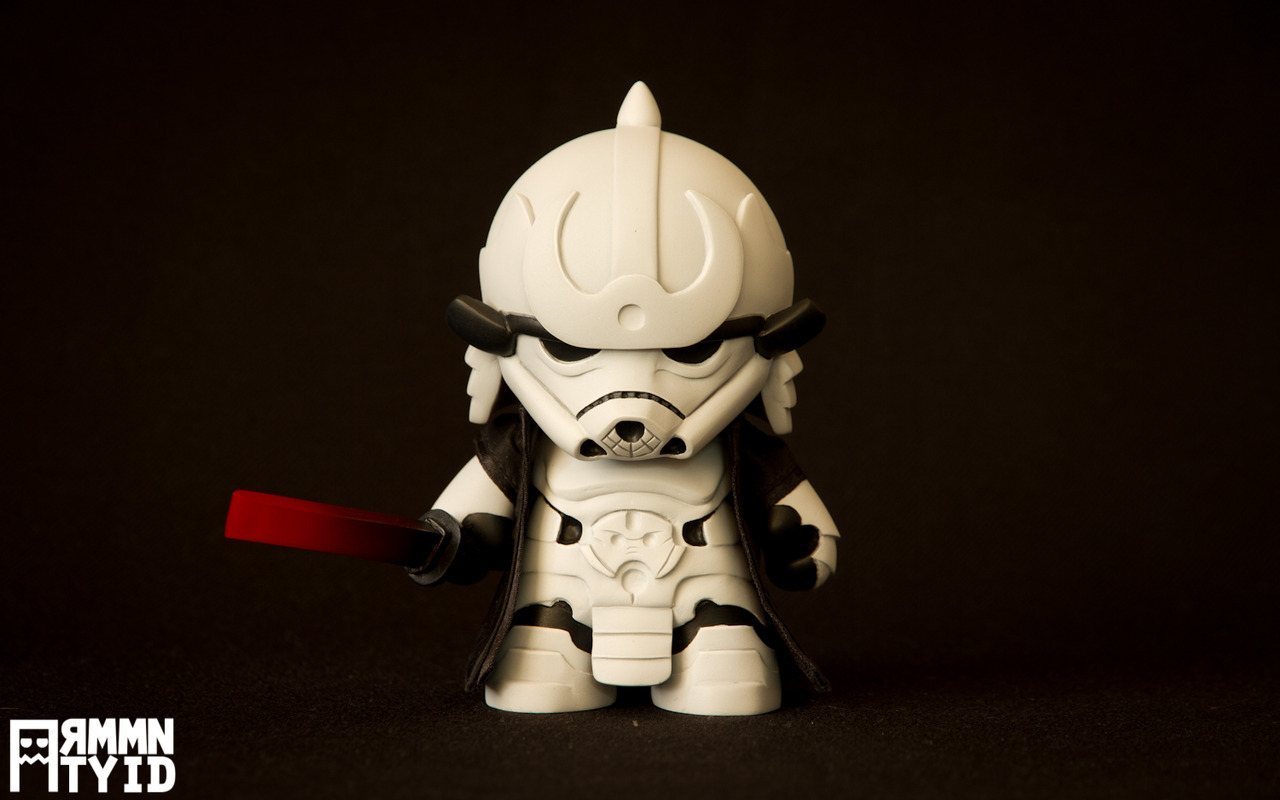 laughingsquid:  Storm Samurai, A Star Wars Imperial Stormtrooper as a Samurai Art Toy