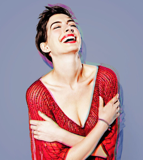 Anne Hathaway photographed by Mary Ellen Matthews for Saturday Night Live, November 10th