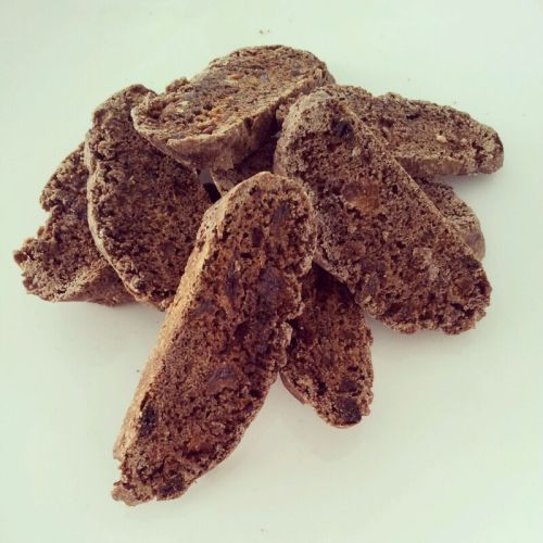Chocolate and Apricot Biscotti