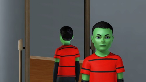 "jezebelzombiesims:  Here is my ""disguised"" human form of Zim for Sims 3. His outfits are all the same as his alien version but he needed his hair and a change of eye color. You can download him here http://www.thesims3.com/assetDetail.html?assetId=6642598 or the whole household here http://www.thesims3.com/assetDetail.html?assetId=6642604 Enjoy and remember to hit 'recommend' if you like him."