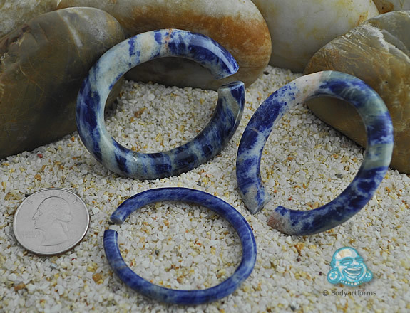 Sodalite Oval Rings by Tawapa