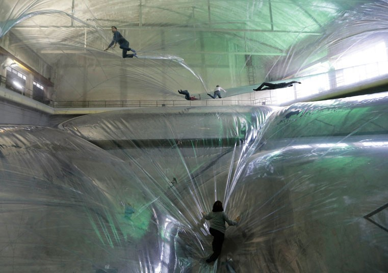 Tomás Saraceno's Adult Playground - 'On Space Time Foam'