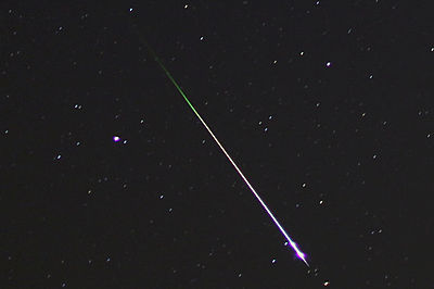 accuweather:  Amazing Leonid Meteor Shower Photos Captured By Stargazers  The Leonid meteor shower peaked early Saturday (Nov. 17), and some night sky watchers caught a great view.  We made a point to glimpse the Leonid shower this morning — anybody else have a penchant for stargazing?