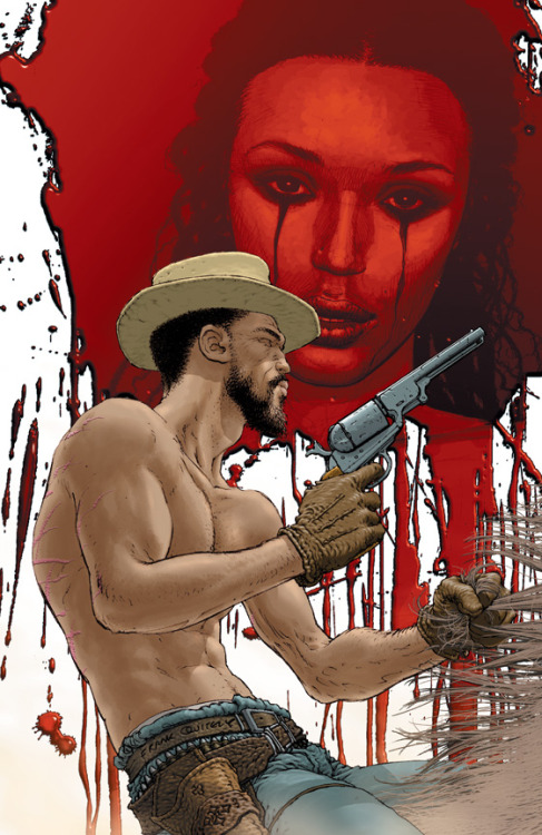 webstoodstupid:  Frank Quitely Covers Django Unchained In February  Vertigo's February solicits gave us an amazing cover by one Frank Quitely! (more…)   View Post