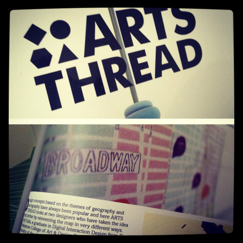 Hey, I'm in this months Arts Thread magazine!