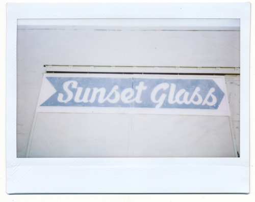 Sunset Glass, 2012