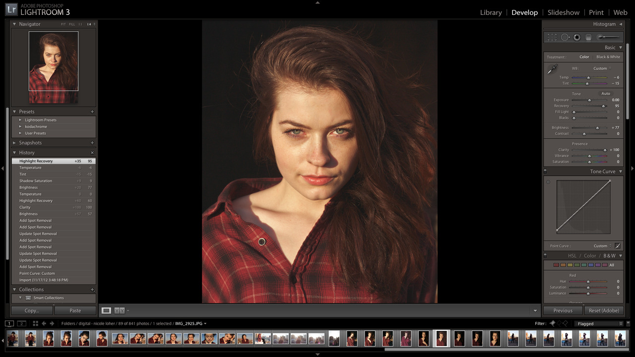 editing a new set from today w/ nicole loher
