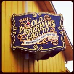 Type ❤ in #monterey #design #signage (at Old Fisherman's Grotto)